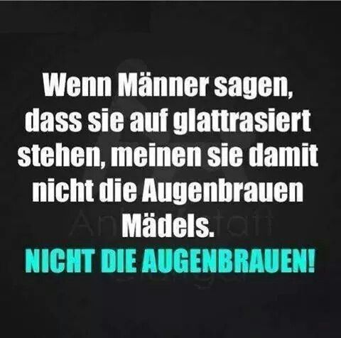 Augenbrauen Coole Spruche Funny Funny Quotes Und Funny Facts