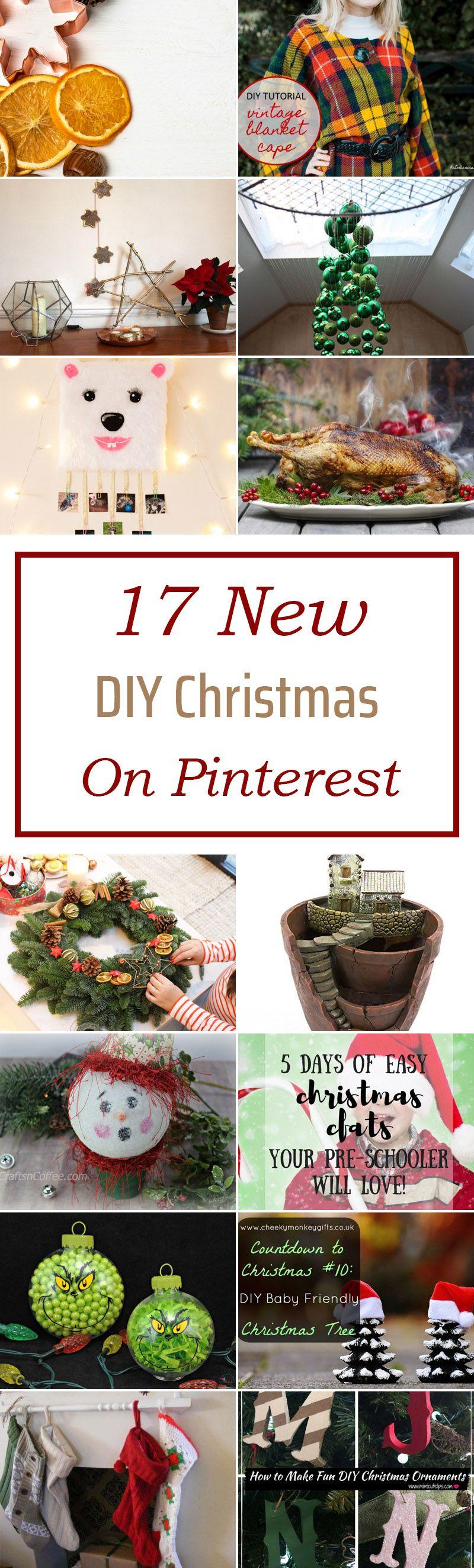 17 New Diy Christmas On Pinterest - Diy Christmas, Diy
