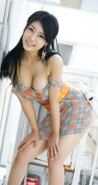 Sexy Busty Asian Girl