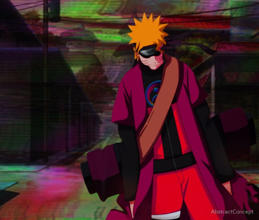 « Naruto - Sadboy$ Glitch » par AbstractConcept