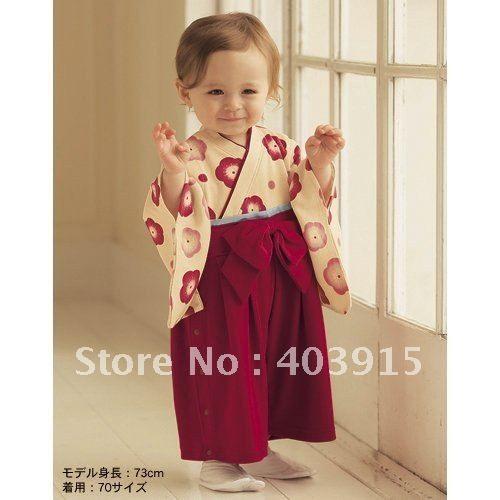 Bébé en kimono