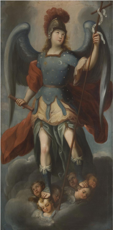 The Archangel Michael Juan Correa The Younger 1739 Arcanjo