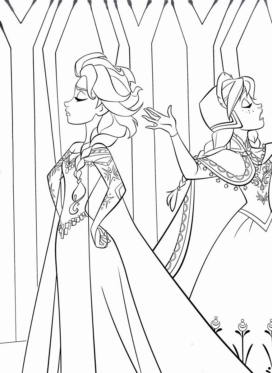 Kawaii Disney Coloring Pages Best Of Walt Disney Coloring ...