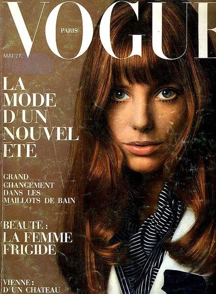 70s classic, love Jane Birkin.  Vintage Paris Vogue.