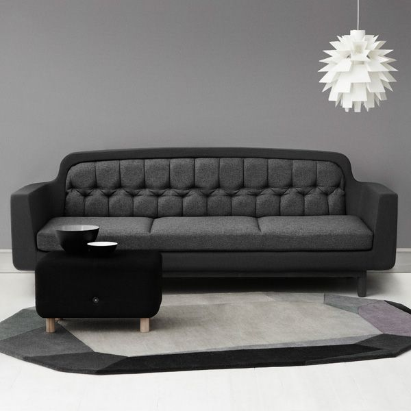 Normann Copenhagen Onkel sofa, light grey | Sofas | Furniture