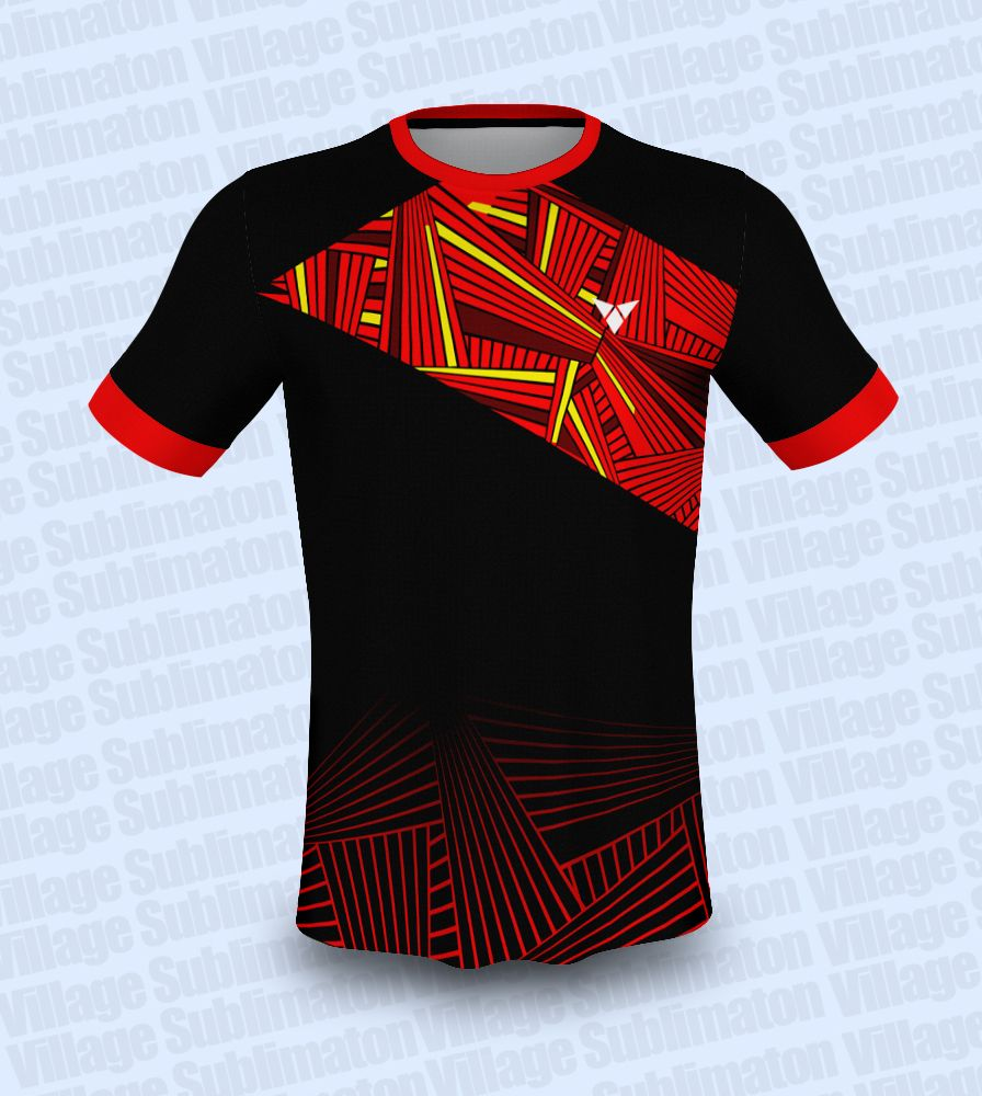 Red Yellow Black Volleyball Jersey Design In 2020 Volleyball Jersey Design Jersey Design Volleyball Designs