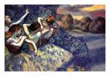 Edgar Degas - Four Dancers Plakát