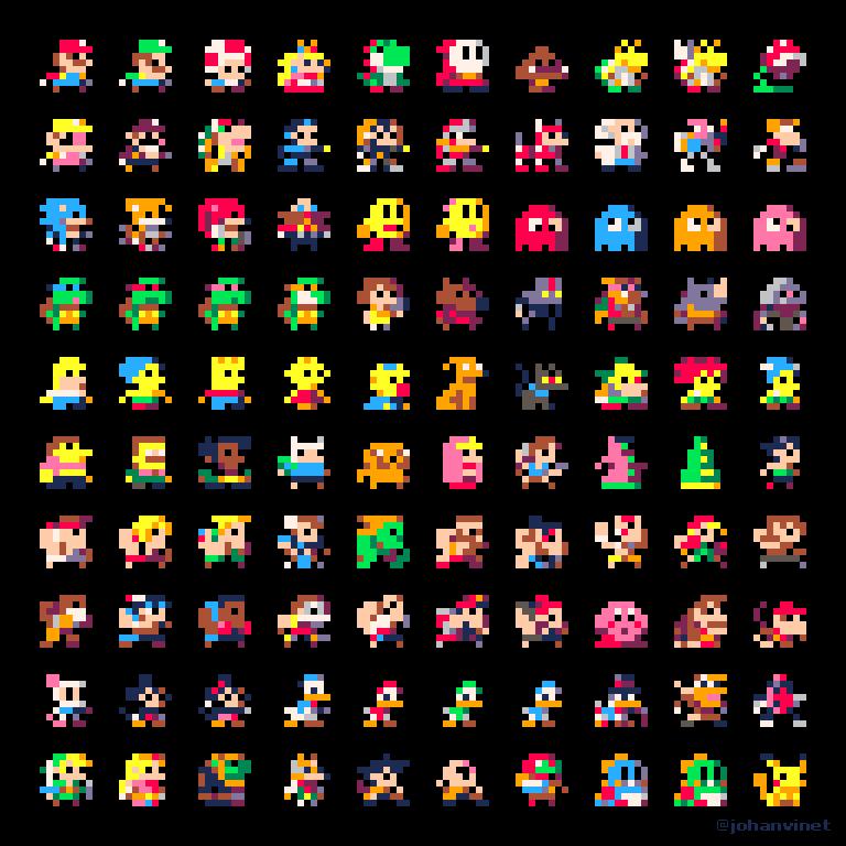 Imagenes De Videojuegos, Arte Pixel Y