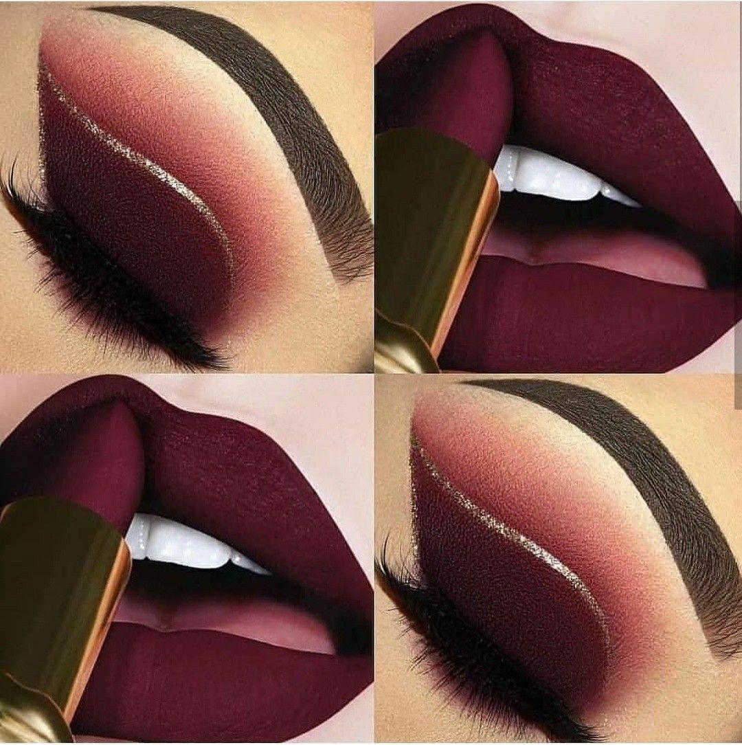 Beautiful lipstick color