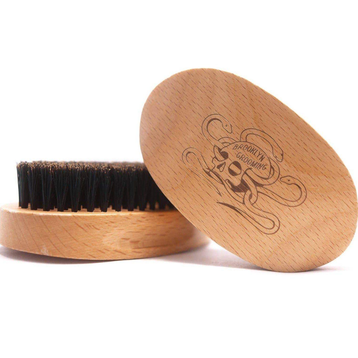 Beard Brush Beechwood And Boar Bristle In 2021 Boar Bristle Beard Brush Boar Bristle Brush