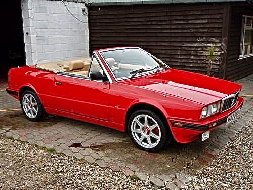 maserati biturbo spyder very rare car and a1 for sale 1987 500 375 cars pinterest. Black Bedroom Furniture Sets. Home Design Ideas