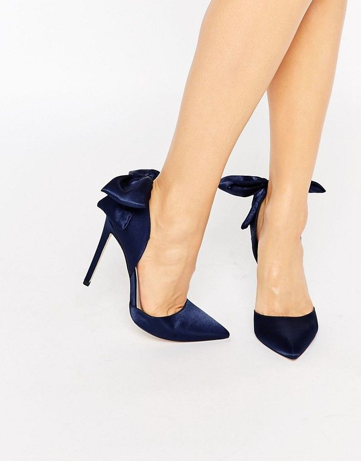 High Phoenix Pointed Bow HeelsShoes Collection Detail Asos FKJl3T1c
