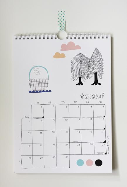 Kanelikauppa calendar