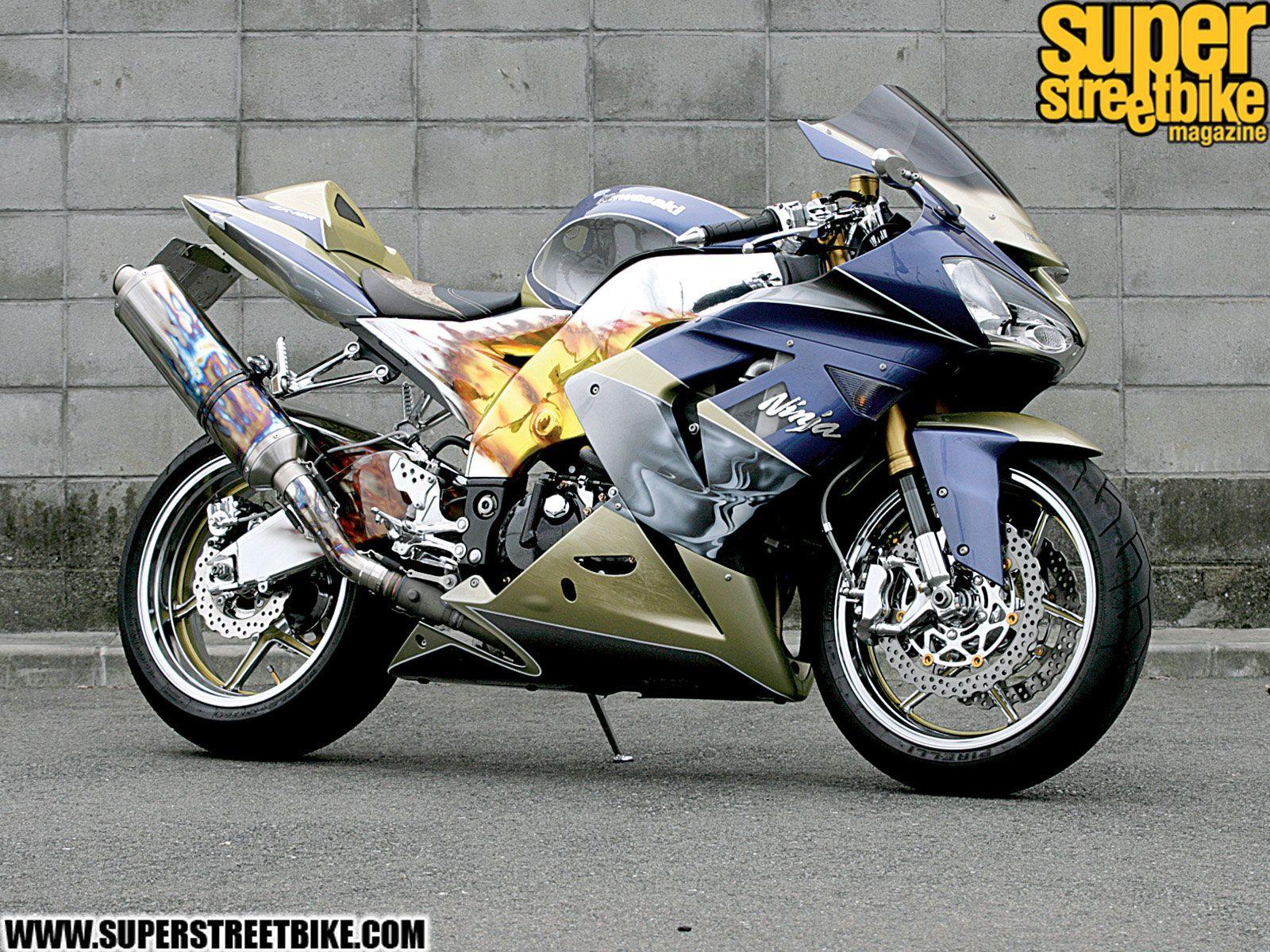 2005 Kawasaki Ninja Zx10R – Idea di immagine del motociclo