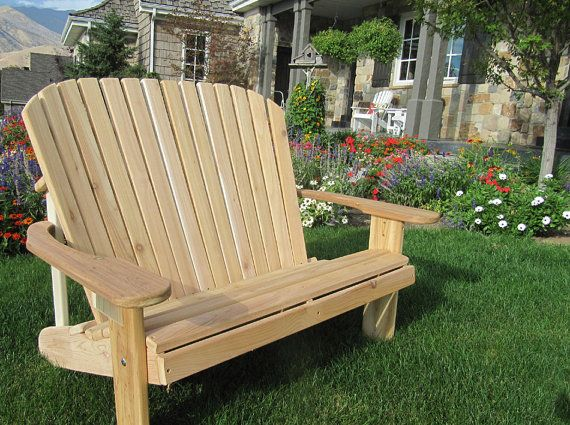 Loveseat Kit Or Partially Assembled Unfinished Love Seat Outdoor Glider Chair Patio