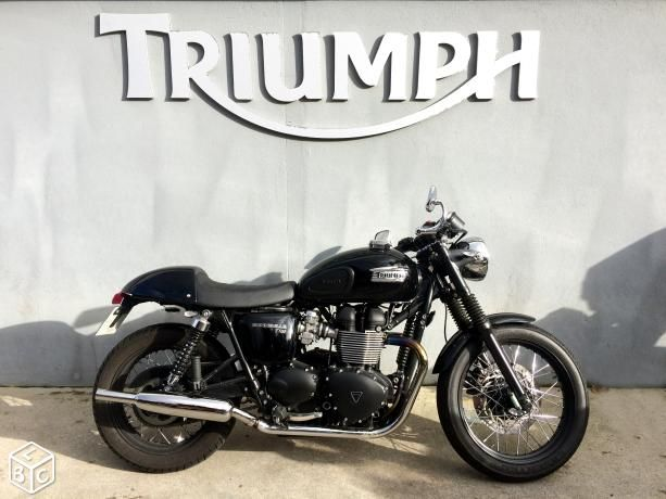 Pro Triumph Bonneville T100 Black Efi Prepa Triumph Triumph