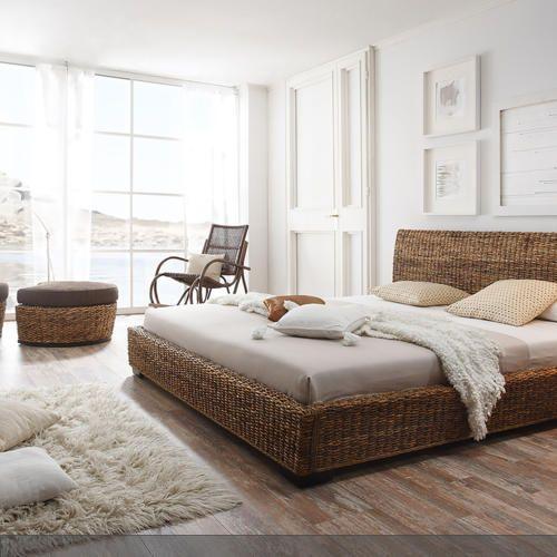 Stylisches Rattanbett Schlafzimmer Stylisch Und - Stylische schlafzimmer