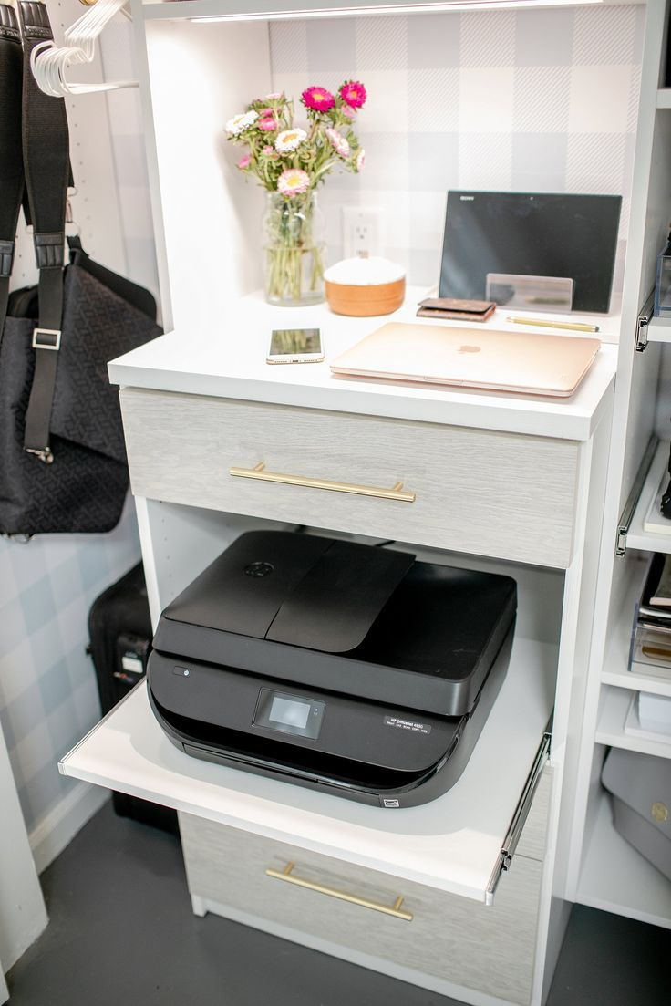 Blogger Photographer Office Closet Reveal images