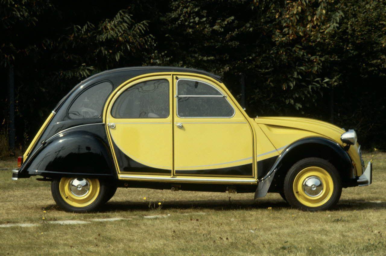 2cv charleston yellow black