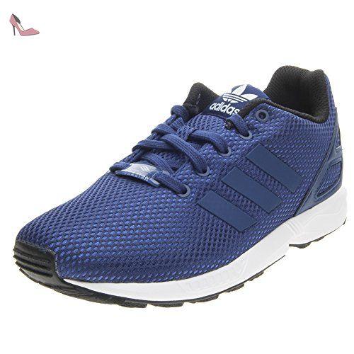 Adidas - Adidas Zx Flux C Chaussures de Sport Petit Garçon Bleu - Bleu, 30