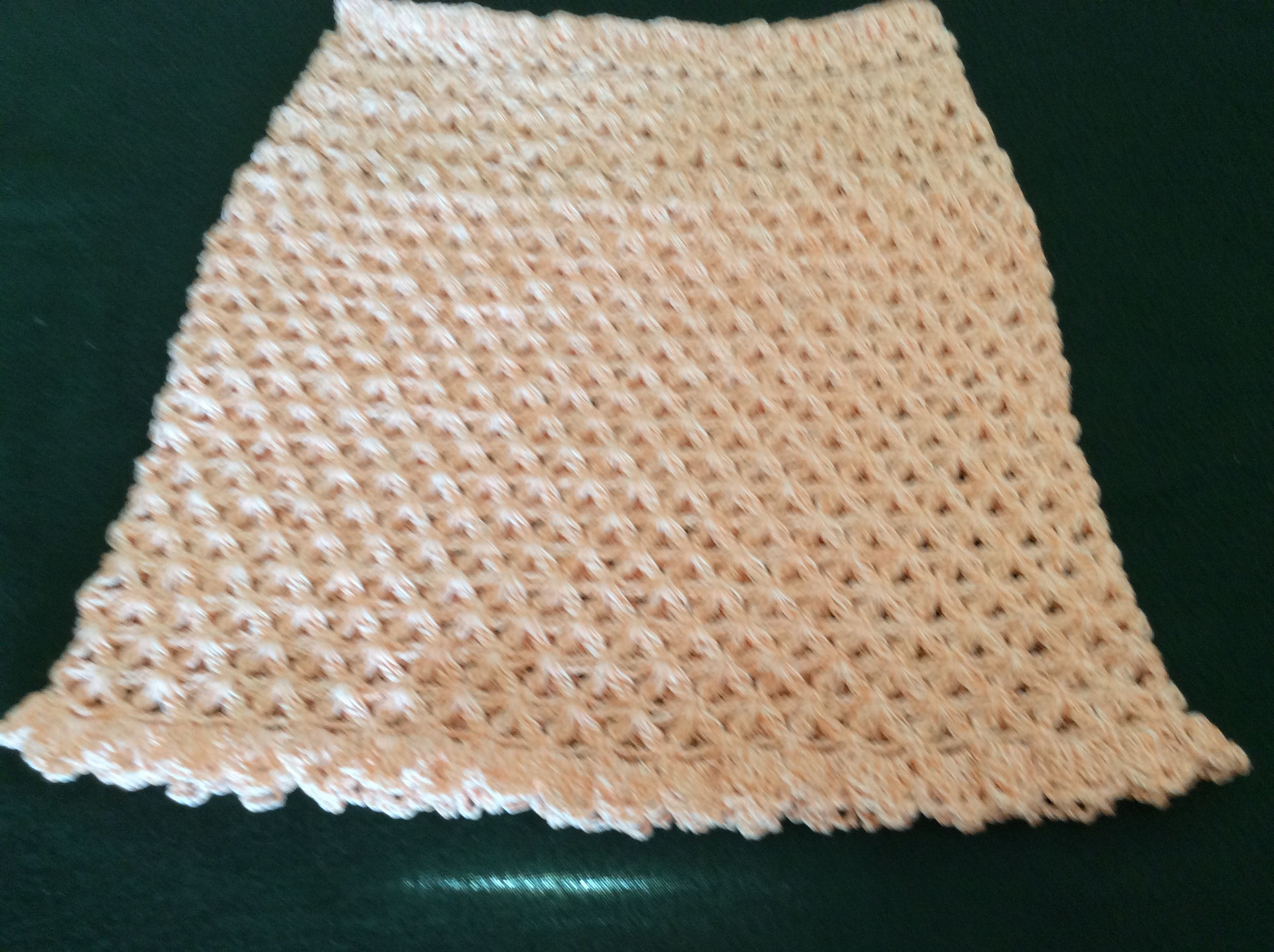 Falda tejida en Hilo para niña de 10 a 13 anos | faldas | Pinterest
