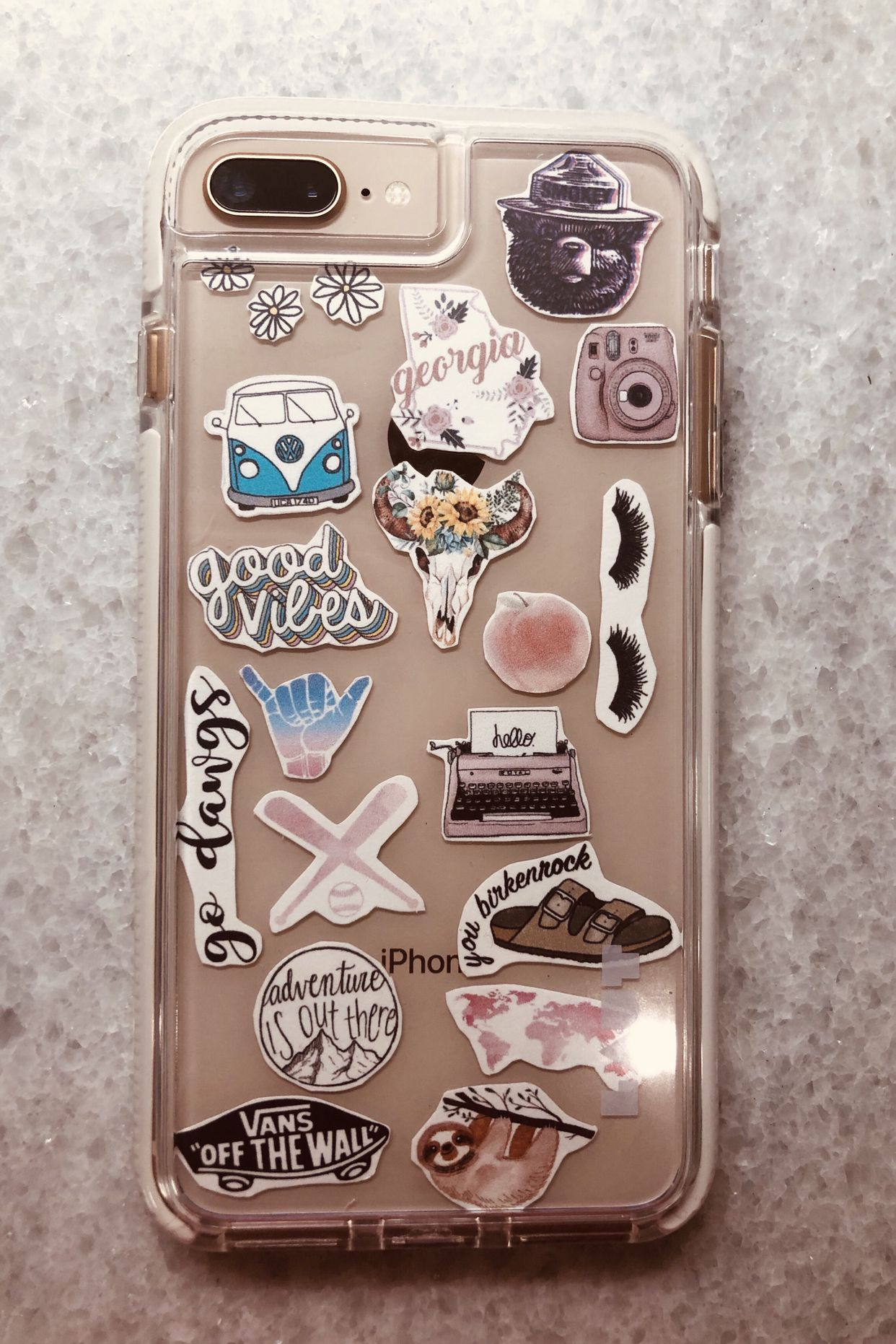 finest selection cbcb0 e10de I got a clear Laut phone case from target. I printed stickers out ...