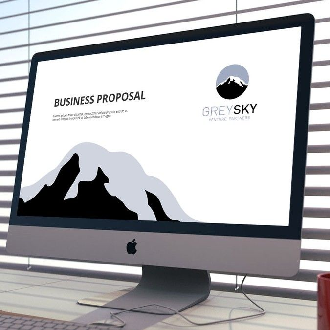 Create a powerpoint template for a new venture capital firm by AZ™