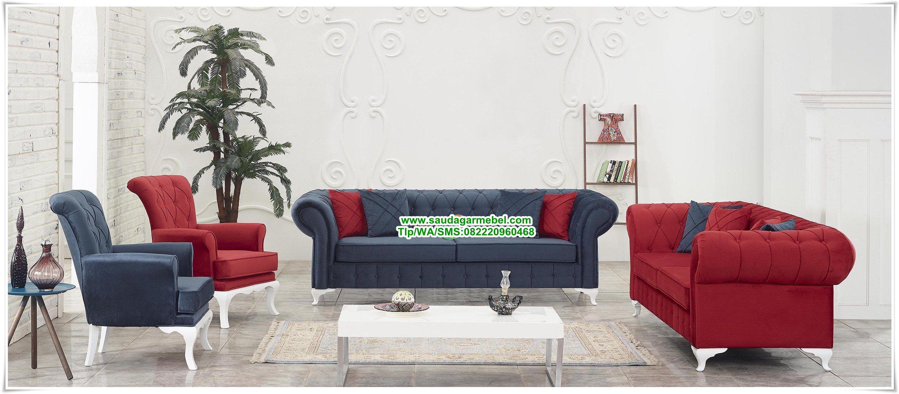 Kursi Sofa Mewah Ruang Keluarga Terbaru Set Tamu