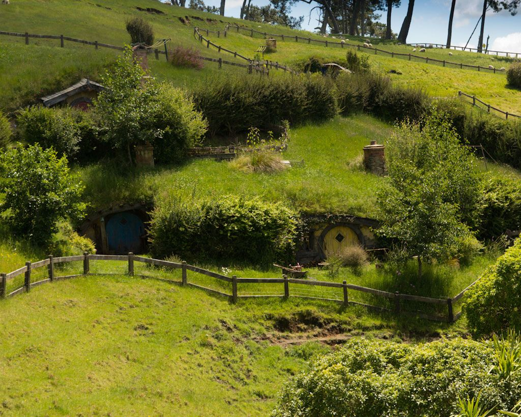 Hobbit Houses Pictures Just