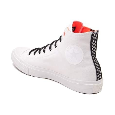 665b4e1bc91c Electrify your look with the awesome new Chuck Taylor All Star II Hi Sneaker …