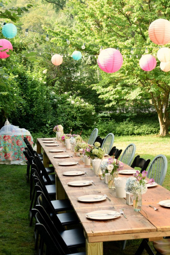 Charming Garden Party, perfect for your next party idea. | Pinterest ...