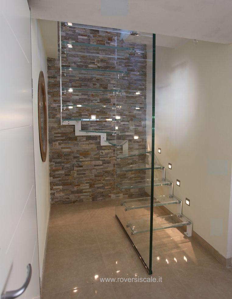 Scale in acciaio e vetro scale in acciaio e vetro nel 2019 pinterest - Scale per appartamenti ...