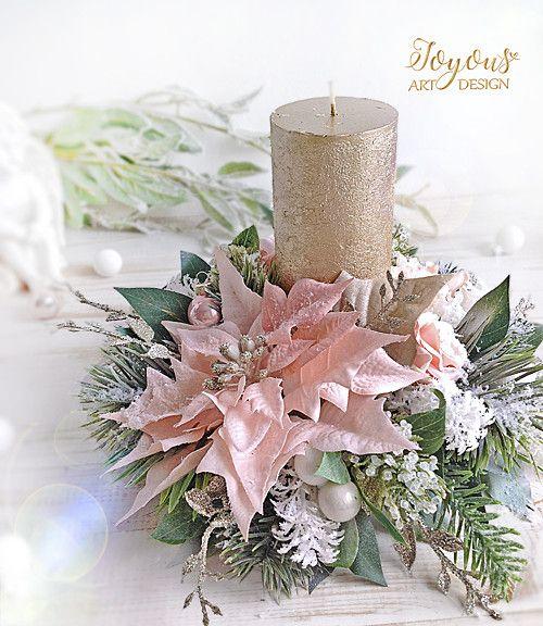 Luxusní rustikální svícen / Zboží prodejce joyous Flercz vanoce - christmas decor pinterest