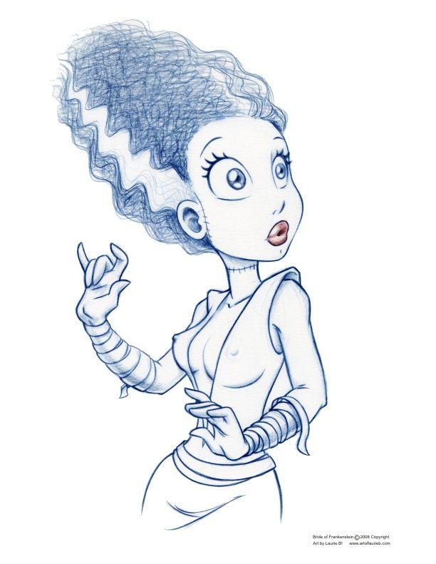 Las superheroínas de Laurie B | Pinterest | Dibujo, Novia de ...