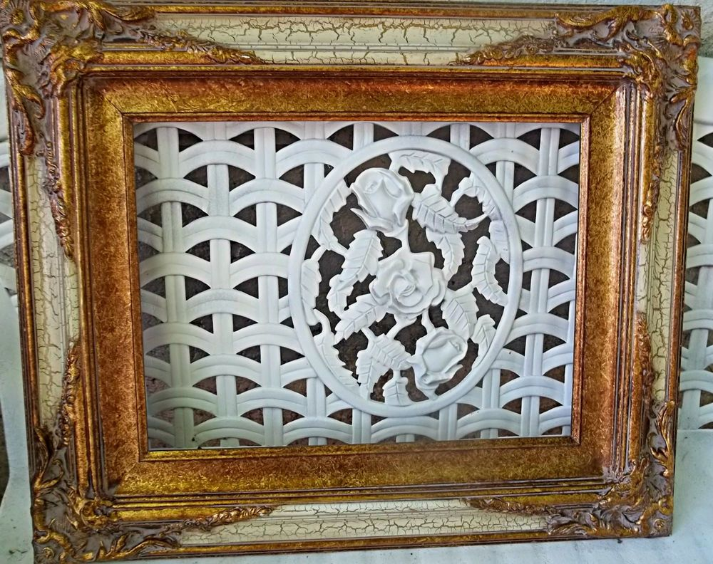 Picture frame ornate antique style goldcream wood frame 20 x 24 picture frame ornate antique style goldcream wood frame 20 x 24 hollywood jeuxipadfo Choice Image
