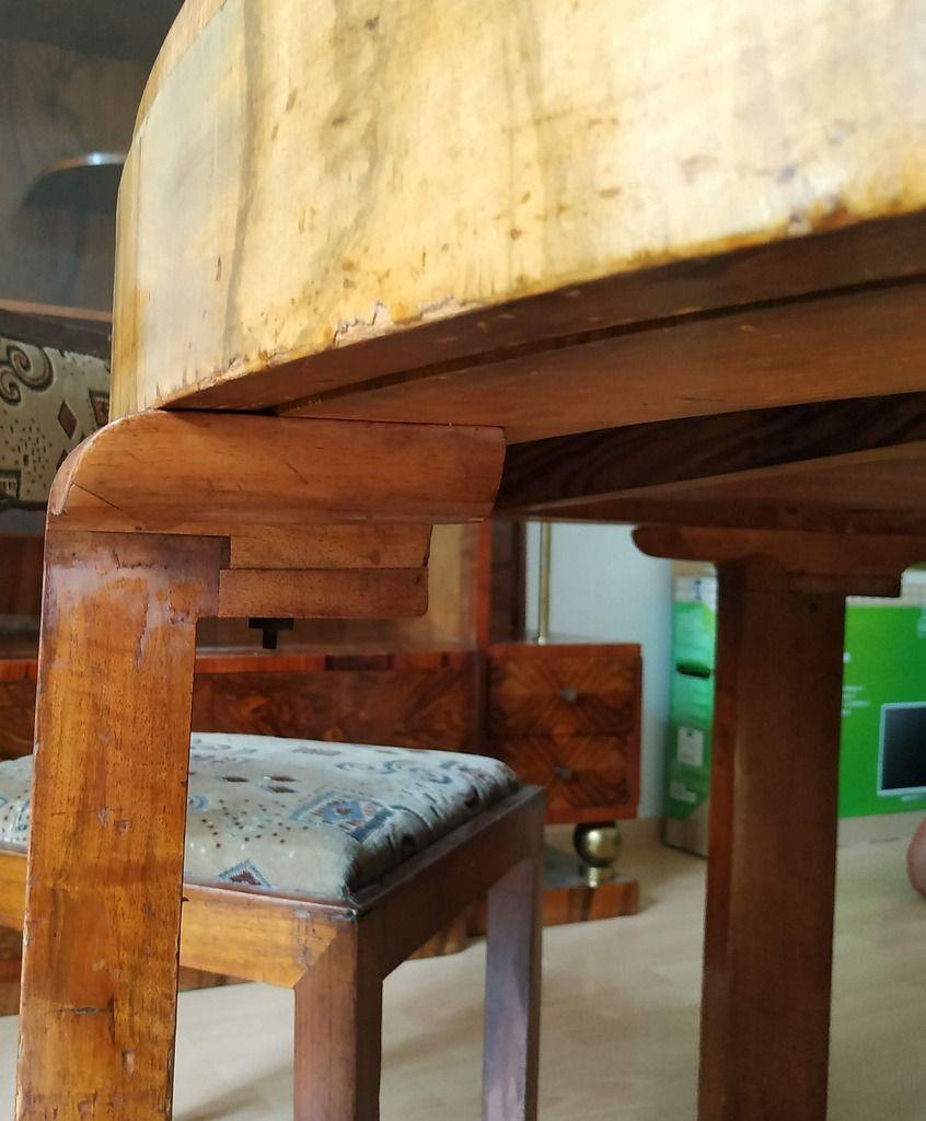 Licytacja Stol Okragly I Krzesla Art Deco Stare Krzeslo Tarnow Allegro Lokalnie Outdoor Decor Decor Art Deco