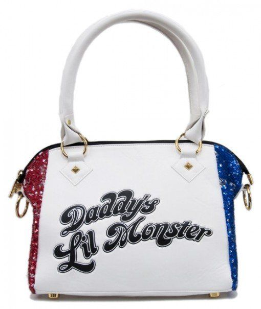 Comics Harley Quinn Print Shoulder Bag Kids Suicide Squad Crossbody Purse Custom