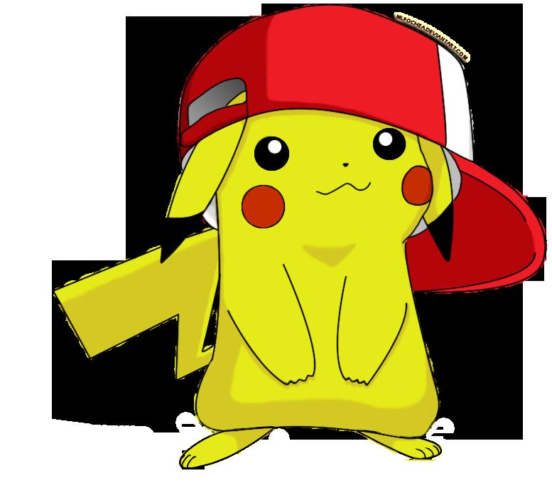 Cute Pikachu with Hat by mlpochea on DeviantArt Pikachu