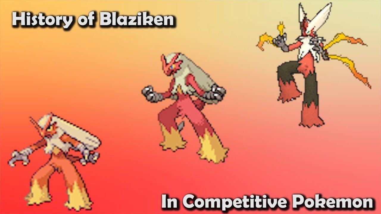 23++ Competitive blaziken info