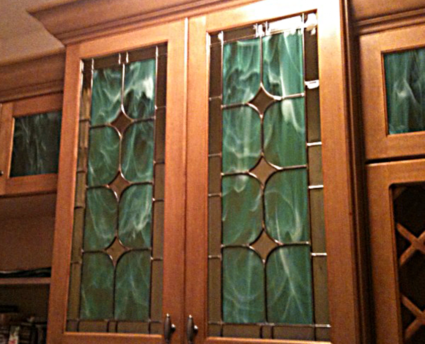 of exterior inserts full window glass wrought doors door cabinets size stained cabinet fiberglass film kitchen leaded panels for iron cupboard