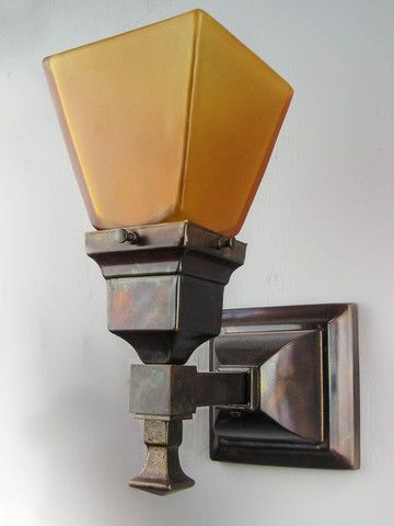 Arts Crafts Mission Wall Sconce Short Tail Sconces Wall Lamp Lamp