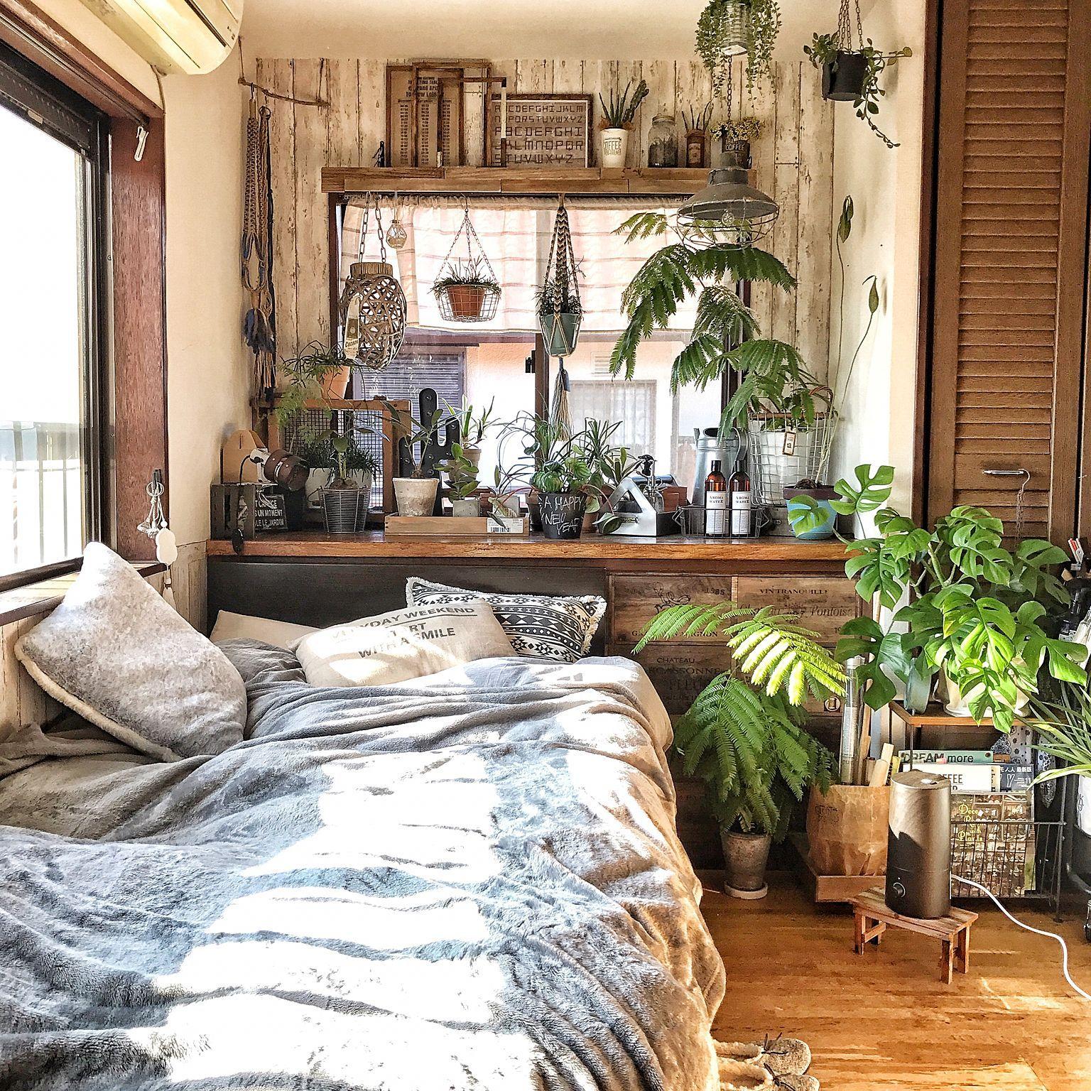 Photo of 部屋全体/加湿器/出窓/植物のある暮らし/NO GREEN NO LIFE…などのインテリア実例 – 2017-01-01 21:28:08 | RoomClip(ルームクリップ)