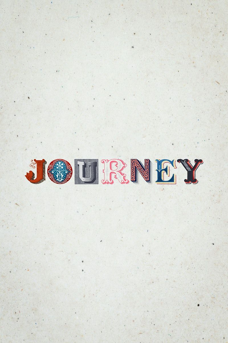 Journey Word Antique Victorian Font Typography Free Image By Rawpixel Com Hein In 2020 Typography Fonts Victorian Fonts Cool Words