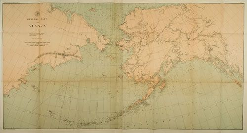 This Day In US Buys Alaska From Russia For - Us map after sewards folly