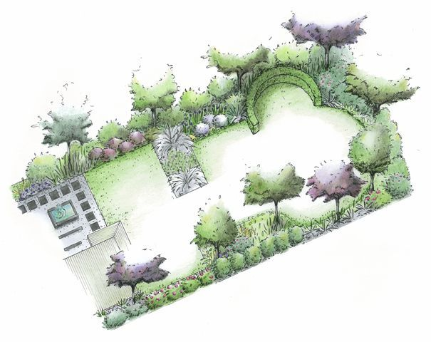 cottage garden design plans awesome design on design design ideas great pin for oahu - Garden Design Layouts