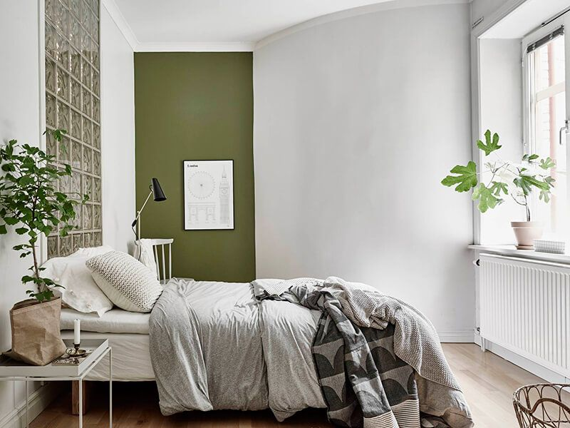 Vert De Gris  Bedrooms Interiors And Green Bedrooms