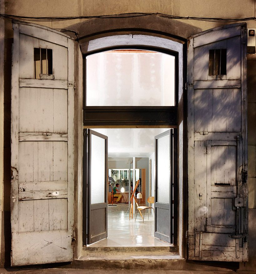 Or Retrofitted Rough Exterior Polished Interior Maio Design