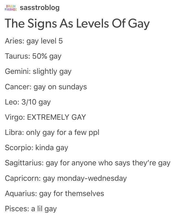 gay astrology signs