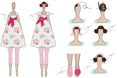 Kostenlose Anleitung Für Tilda Engel Tilda Sewing Dolls Sewing