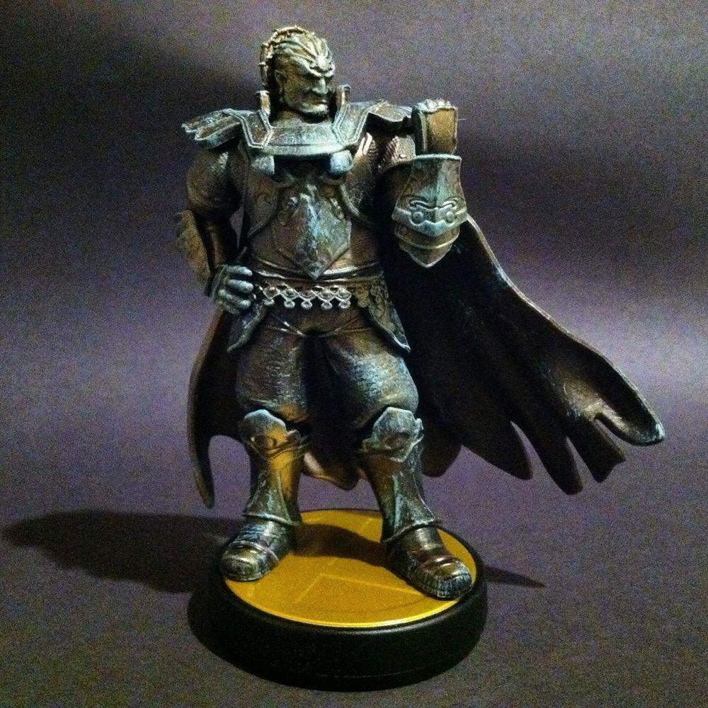 Custom Evilos Nintendo Super Smash Ganondorf Amiibo Wii U